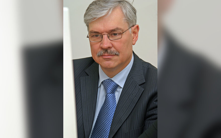 Finansų ministras Zigmantas Balčytis