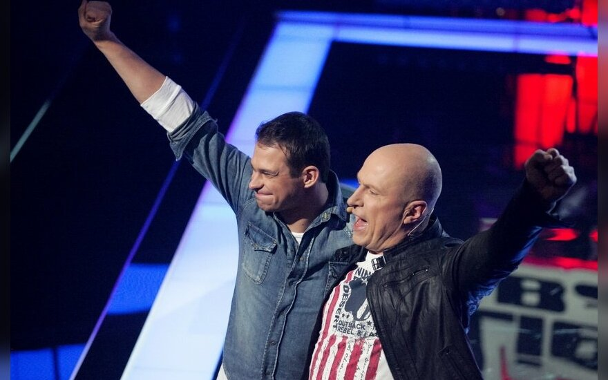 Algimantas Minalga-Soliaris ir Egidijus SIpavičius