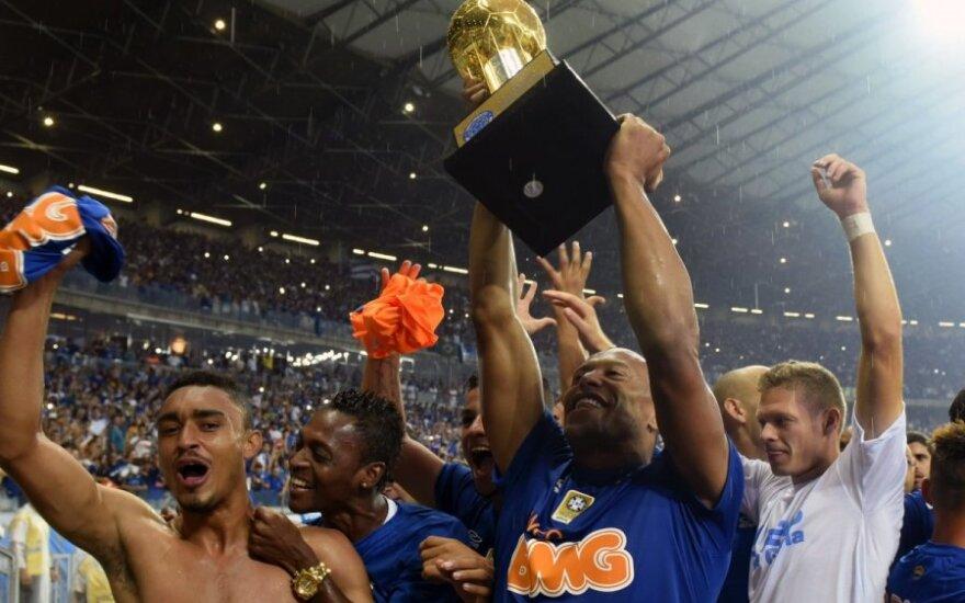 """Cruzeiro"" klubo futbolininkai"
