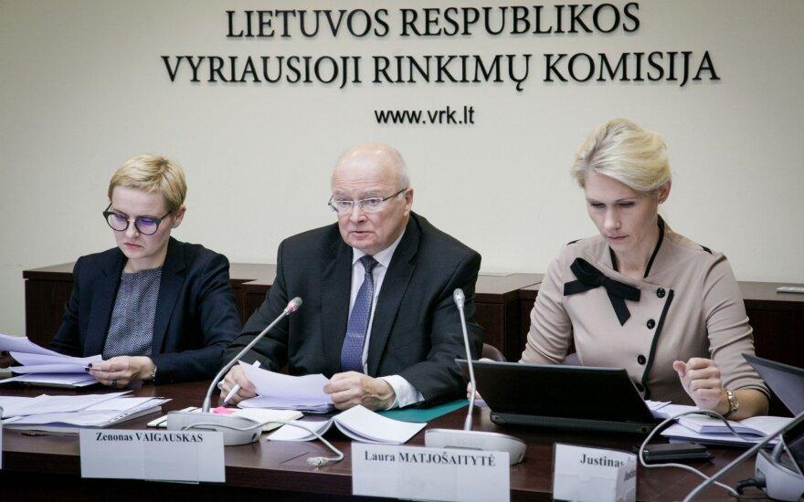 VRK skelbs galutinius Seimo rinkimų rezultatus