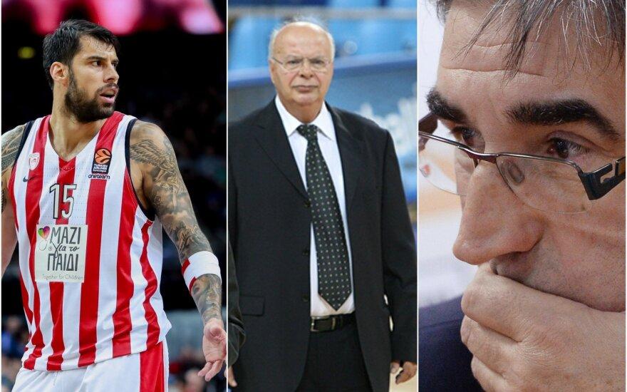 Georgis Printezis, Georgis Vassiakopoulas, Jordi Bertomeu / Foto: DELFI, Sputnik-Scanpix