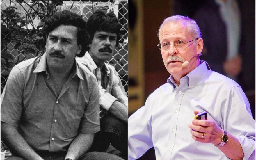 Pablo Escobaras ir Steve Murphy