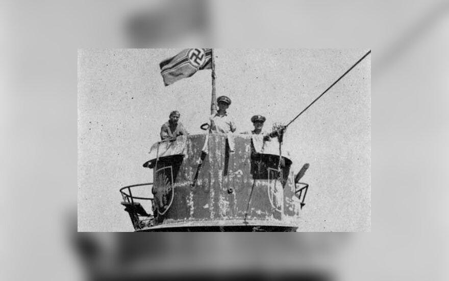 U-505 captured. Photo Wikipedia