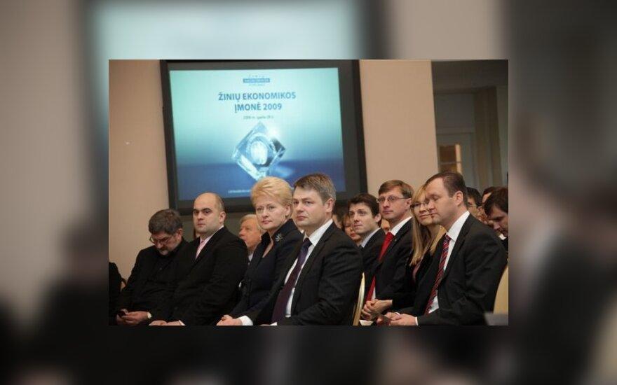 Žinių ekonomikos įmonės 2009 apdovanojimai