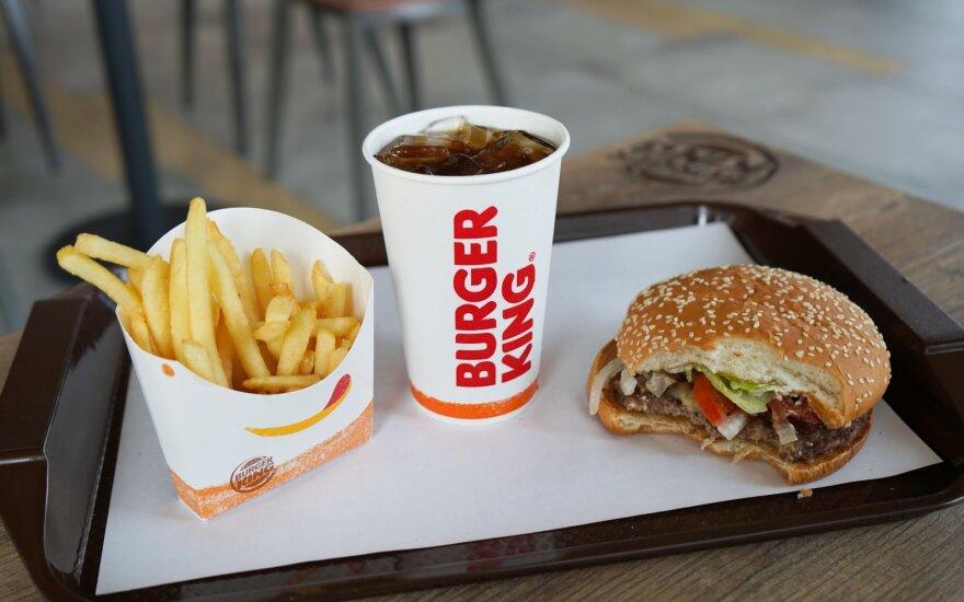 """Greito maisto restoranas """"Burger King"""" įsteigė įmonę Lietuvoje"""