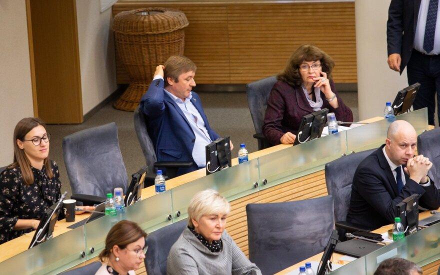 Pavyko: Seimas pritarė Seimo rinkimų kartelės mažinimui