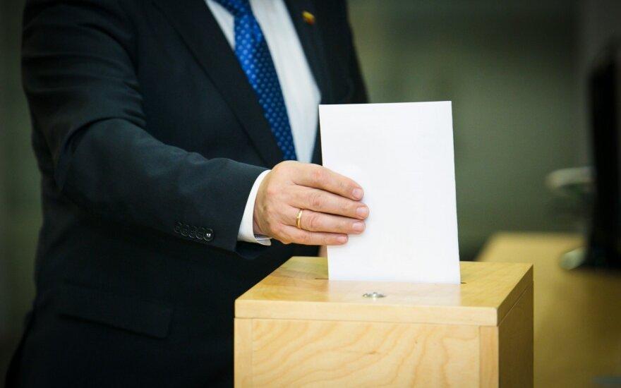 Vyriausybė vykdo rinkėjams duotą pažadą dėl elektroninio balsavimo