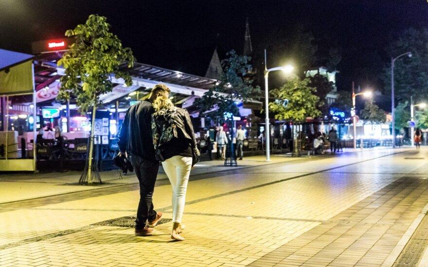 Ilgąjį savaitgalį Palangoje sugadino triukšmingi poilsiautojai