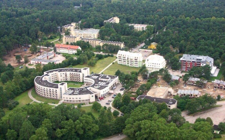 """Poilsio namų """"Baltija"""" kaina sumažinta iki 4,4 mln .eurų"""