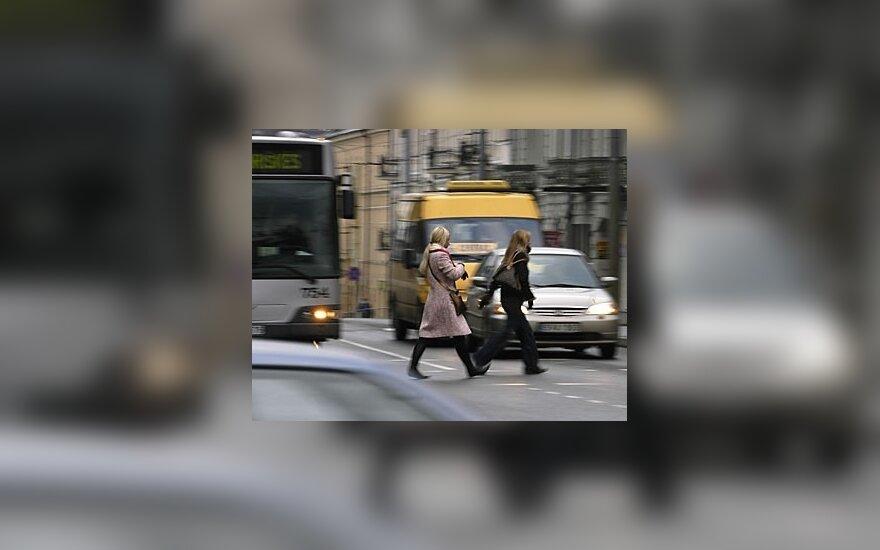 Policija vykdys vairuotojų ir pėsčiųjų kontrolę