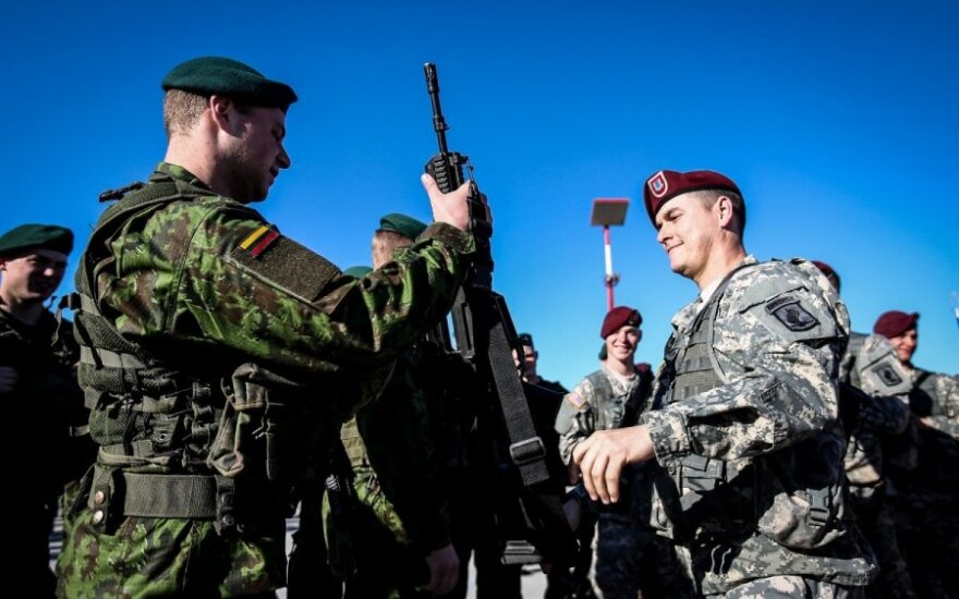 US may leave behind part of weaponry in Lithuania, chief of defence says