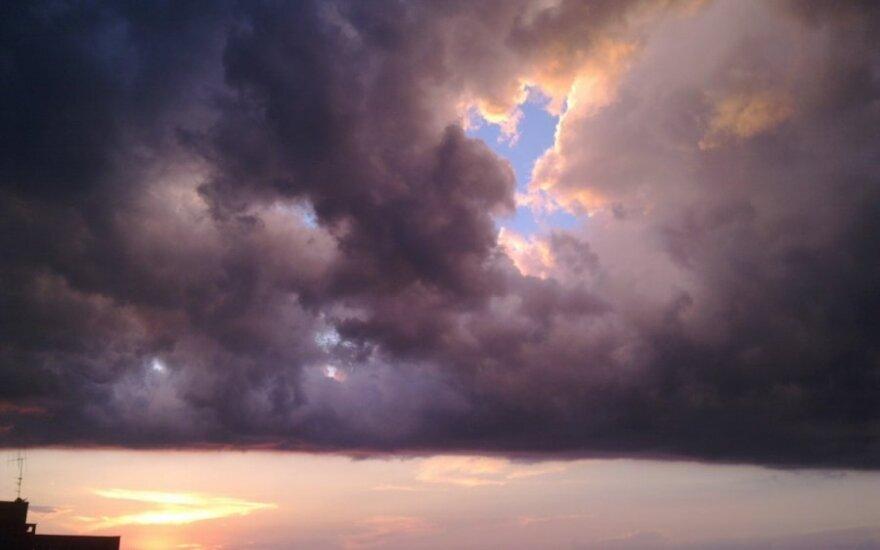 Pastelinis Vilniaus dangus - nuotraukose