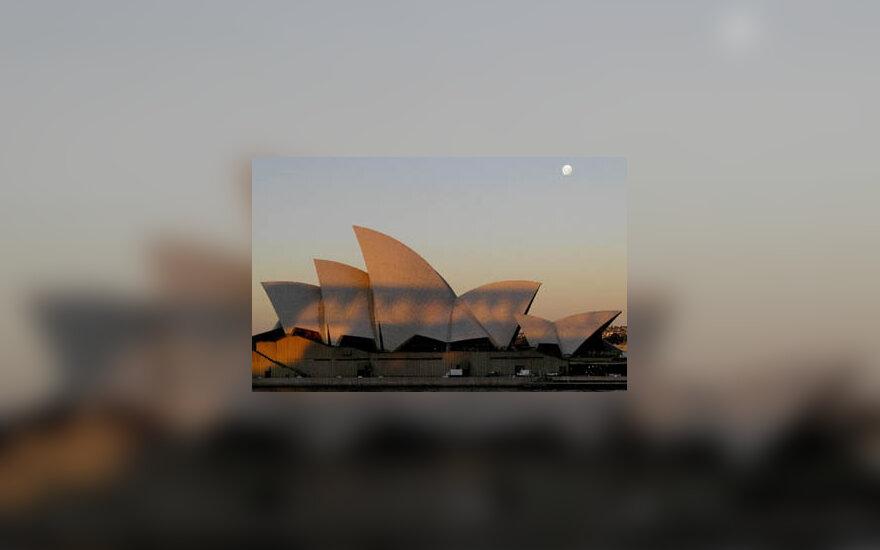 Šešėliai ant Sidnėjaus operos, Australija