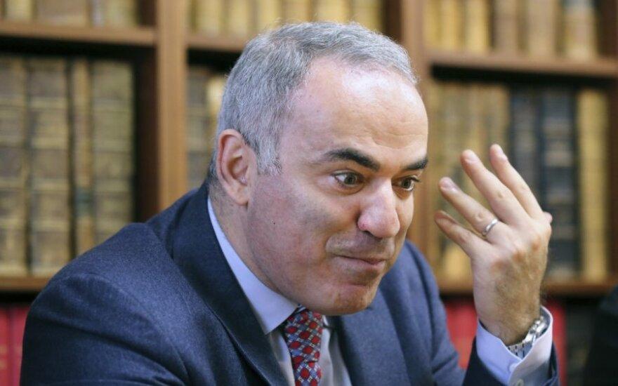 G. Kasparovas: konfrontacija su Vakarais yra pagrindinis V. Putino tikslas