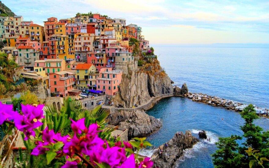 """Sveikiname konkurso """"Italija, kurios nepamiršiu"""" nugalėtojus!"""
