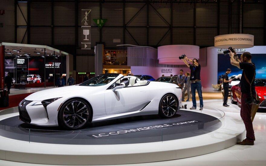Prasidėjo Ženevos automobilių paroda