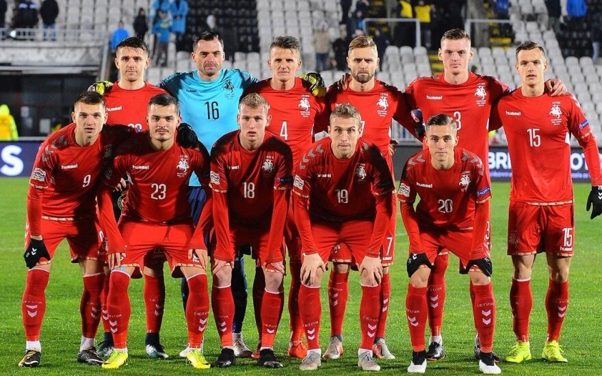 Tautų lyga: Serbija - Lietuva / FOTO: fss.rs