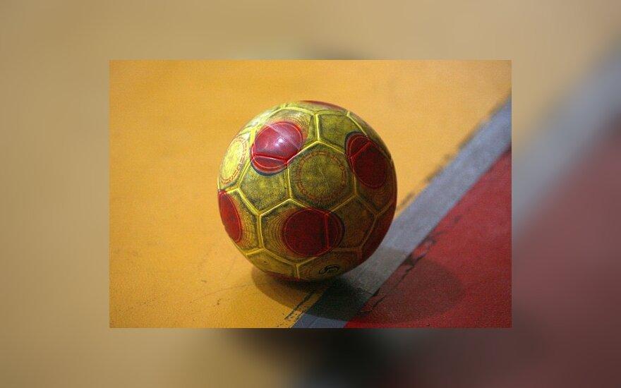 Lietuvos salės futbolo rinktinė pralaimėjo ir Italijai