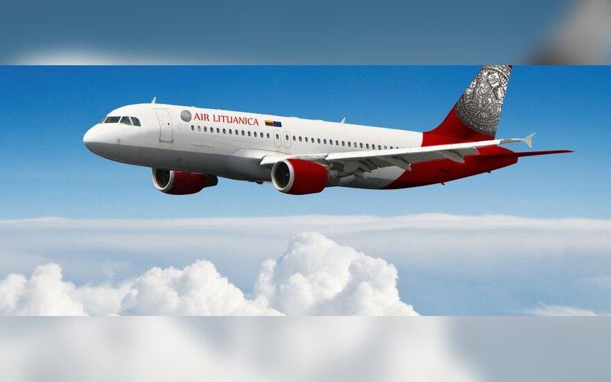 Air Lituanica lėktuvas