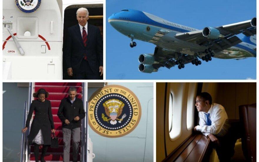 JAV prezidento ir viceprezidento lėktuvai. AOP ir Scanpix. nuotr