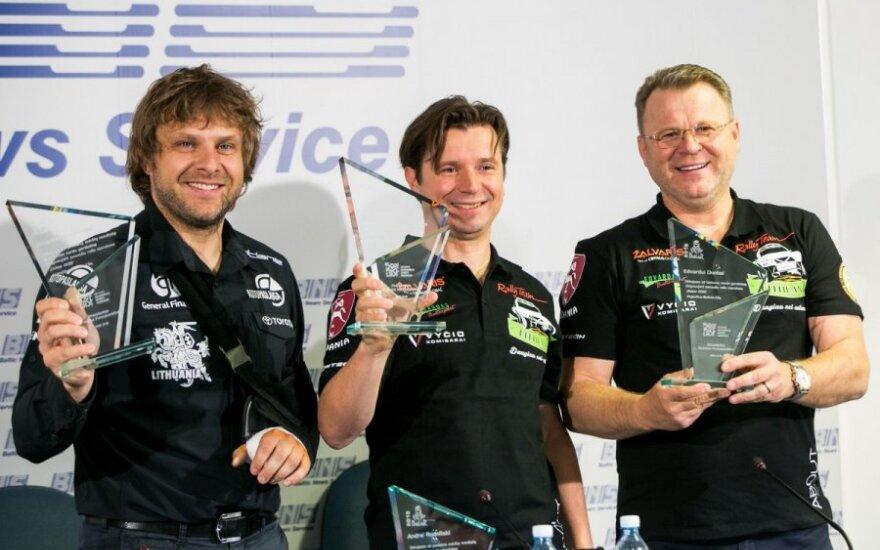 B. Vanagas ir A. Juknevičius jau pradėjo pirmą 2016-ų Dakaro ralio greičio ruožą
