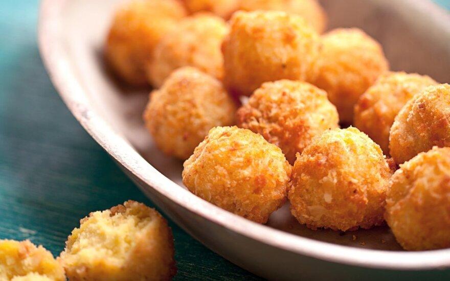 Dieviškai traškūs bulviniai kukuliai