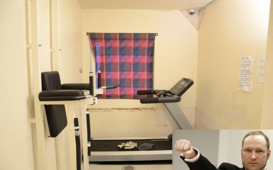 Ilos kalėjimas, kuriame kali A. Breivikas