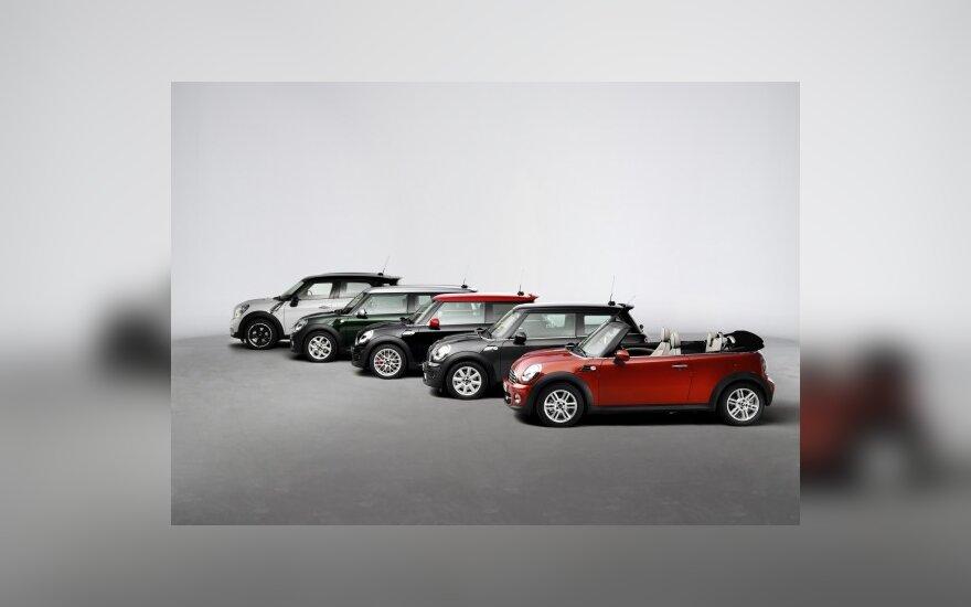 """""""Mini"""" naujienos Paryžiaus automobilių parodoje"""
