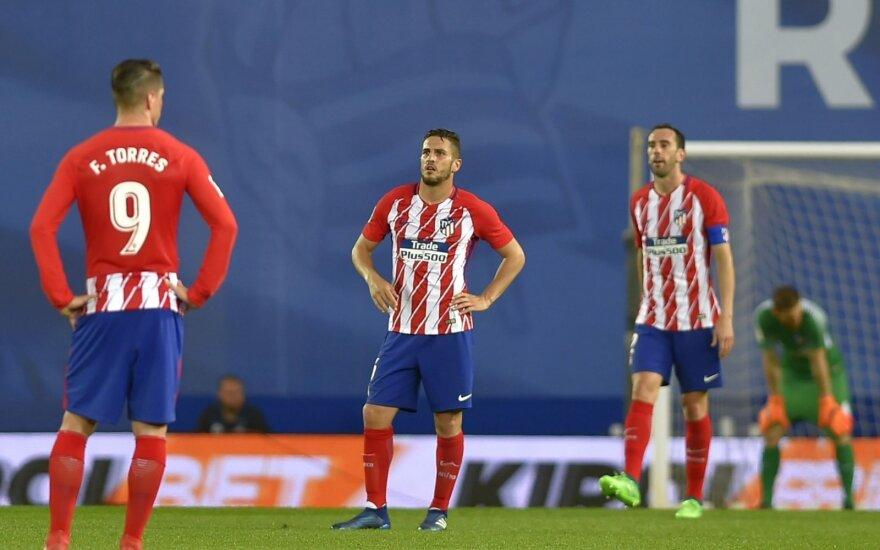 """""""Atletico"""" – nelauktai sutriuškintas Ispanijoje"""