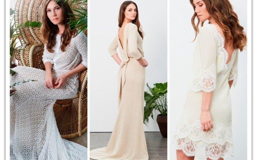 Kolekciją Londone pristačiusi lietuvė: vestuvinės suknelės vertė - tai ne tik 5 metrai audinio