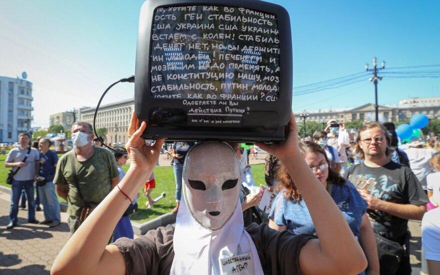 Protestas Chabarovske