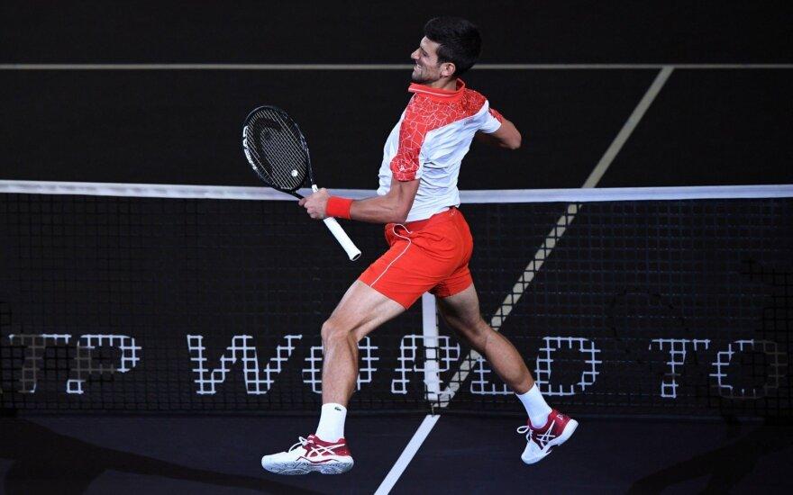 """Džokovičius laimėjo """"Masters"""" turnyrą Kinijoje"""