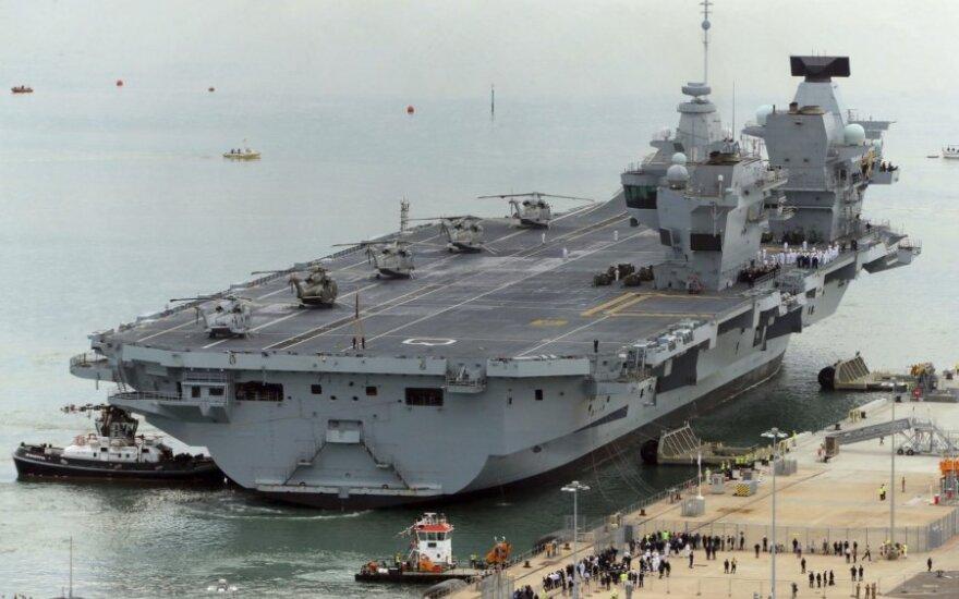 """""""HMS Queen Elizabeth"""""""