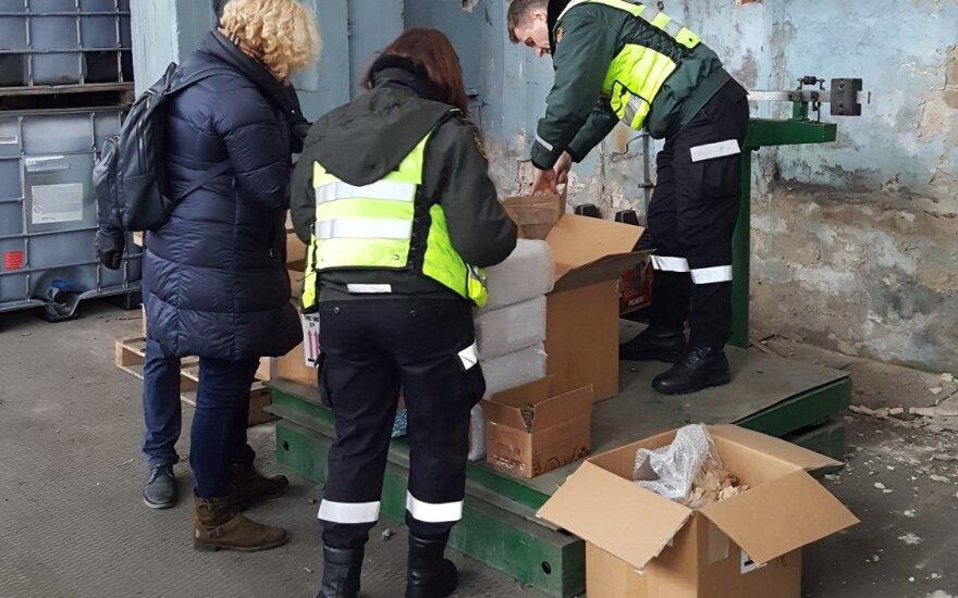 Tarptautinės operacijos metu Lietuvoje sulaikyta 335 tūkst. saldainių