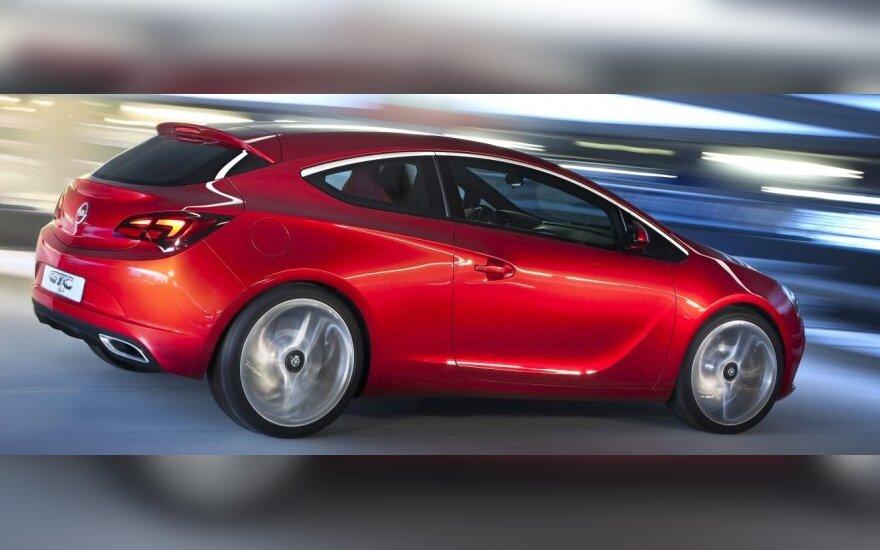 Opel Astra GTC koncepcija