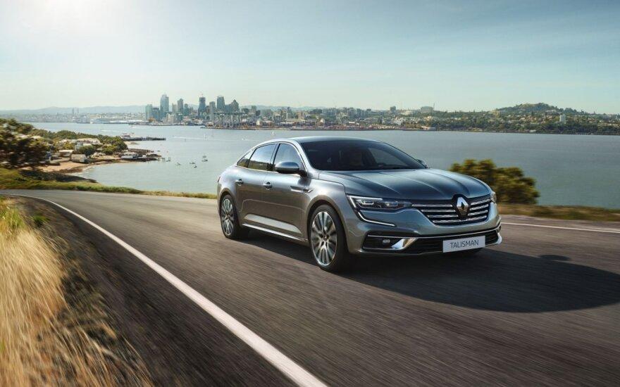 """Naujasis """"Renault Talisman"""""""