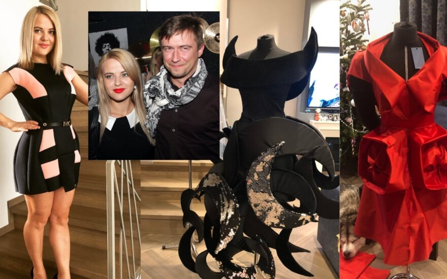 Renata ir Marius Jampolskiai, Renatos sukurtos suknelės