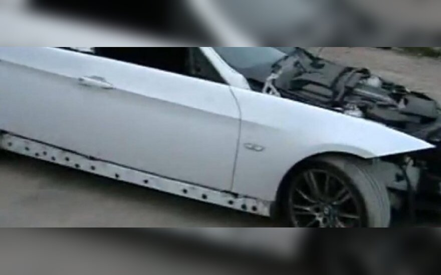 Išardytas BMW