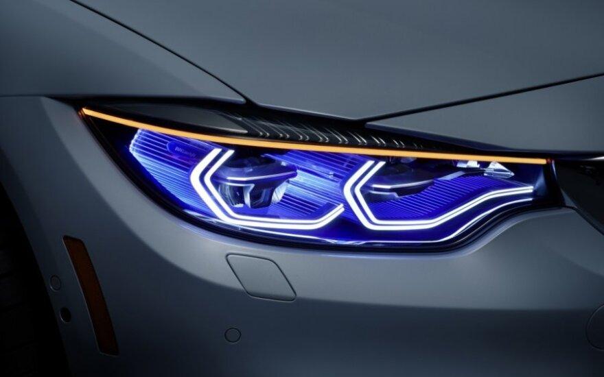 Ateities BMW žibintai