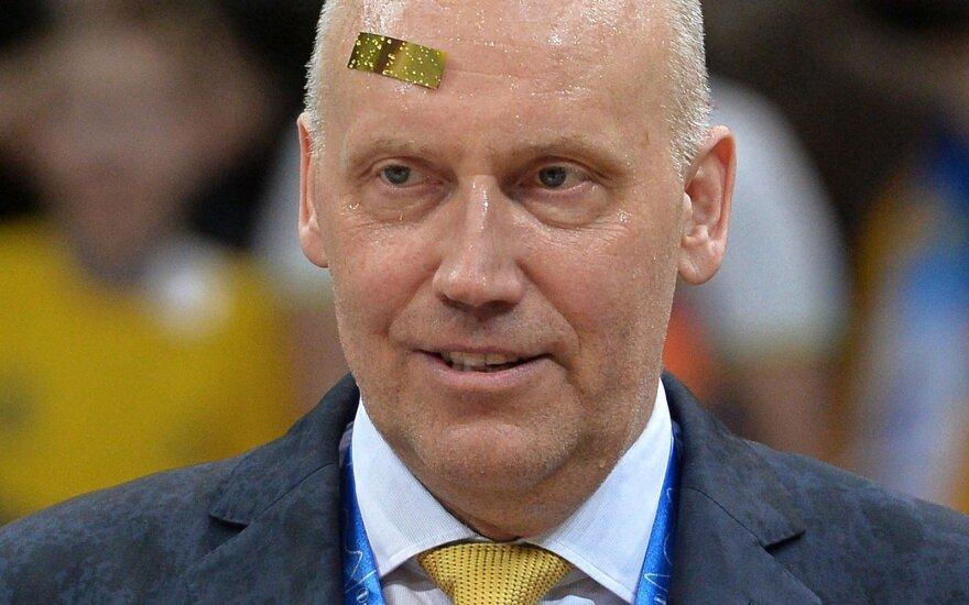 R. Kurtinaitis – naujoje kėdėje: pasakiau griežtai, kad D. Gerasimenkos tikrai neleisiu į aikštę