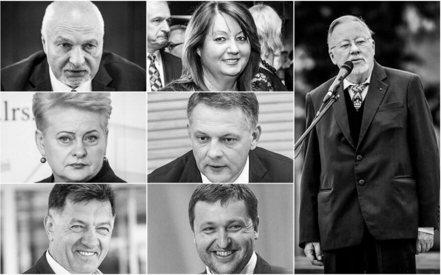 Lietuvos įtakingiausieji: politikų sąrašas