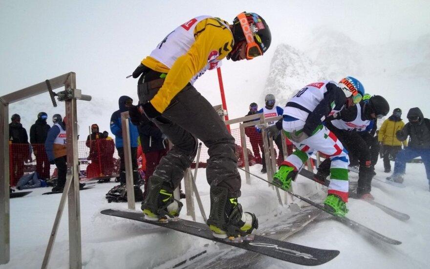Snieglentininkas A. Arlauskas jaunimo olimpinių žaidynių kroso varžybose užėmė 14-ą vietą