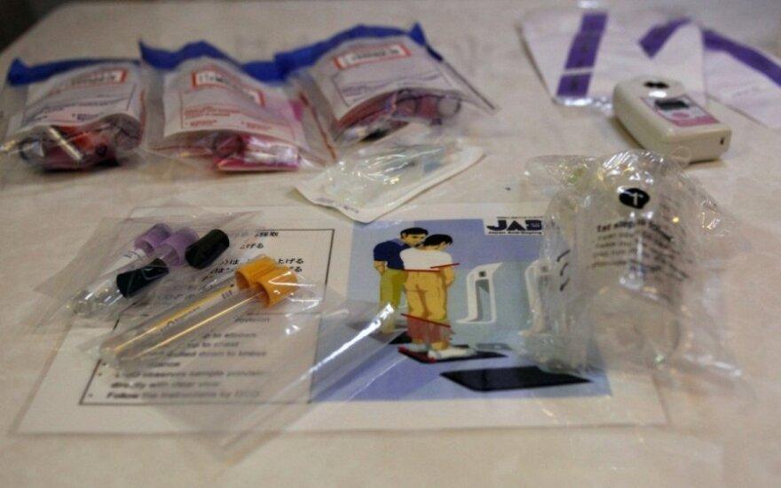 Dopingo testo priemonės