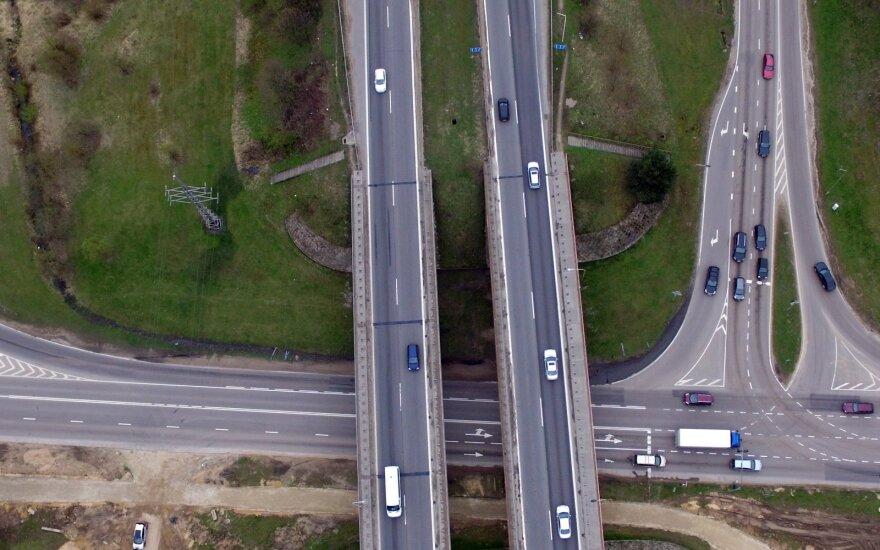 Magistralė Vilnius–Kaunas–Klaipėda keisis: bus statomas naujas tiltas