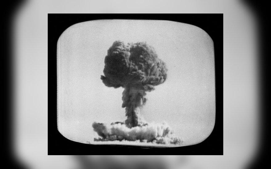 Kas gali paspausti Rusijos branduolinį mygtuką?