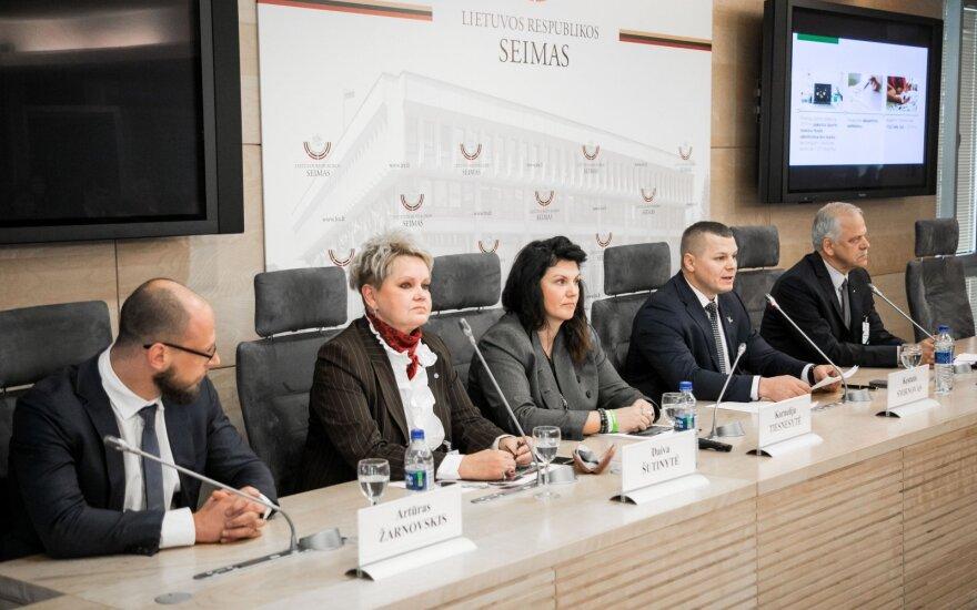 Artūras Žarnovskis, Daiva Šutinytė, Kornelija Tiesnesytė, Kęstutis Smirnovas, Rimantas Kveselauskas