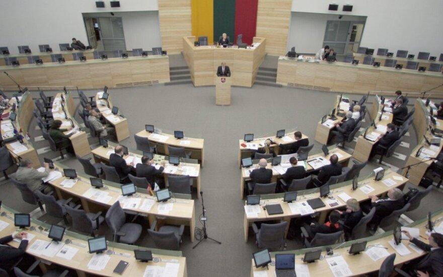 Seimo narių skaičius neatitinka jų darbo kokybės – užtektų ir 29 tautos atstovų