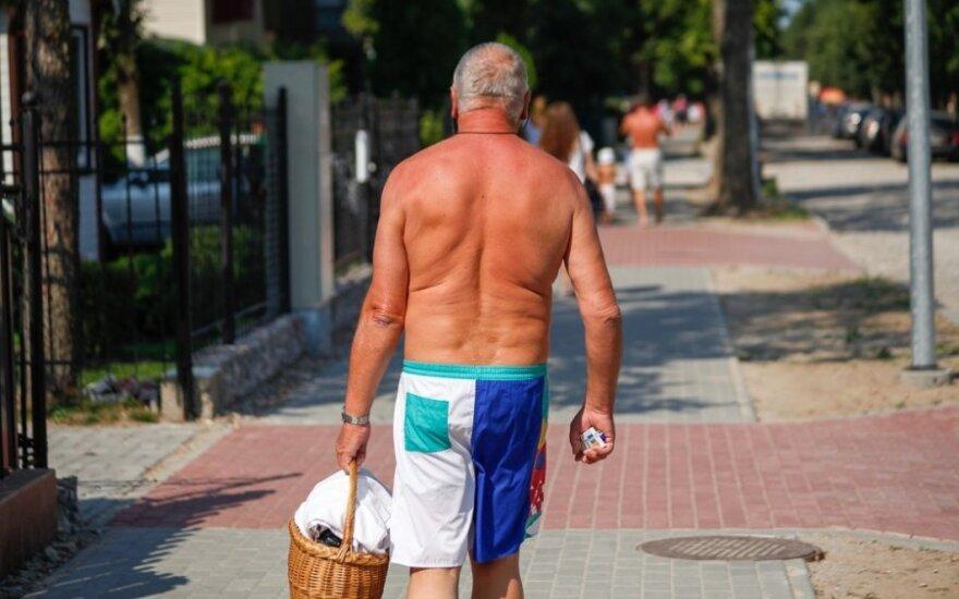 Ekspertai: laukiama ekstremalių karščio bangų