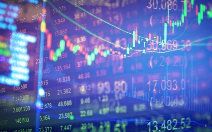 Ispanijos akcijų rinka auga, kiti Europos indeksai daug nekinta