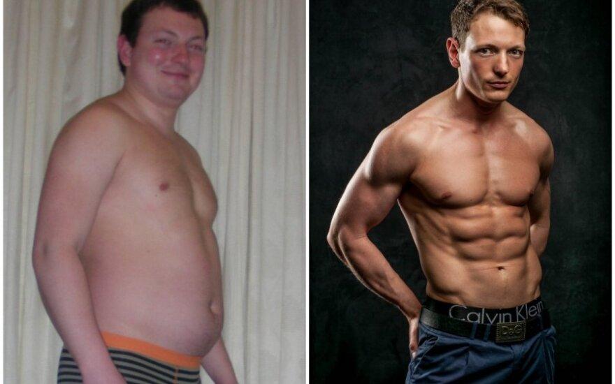 34 kilogramų atsikratęs Vasilijus: teisinga motyvacija yra variklis
